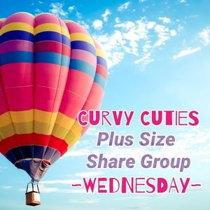 Tops - 6/26 PLUS SHARE GROUP: Curvy Cuties